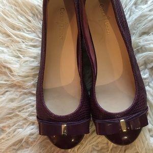 Shoes - COLE HAAN purple ballet shoes